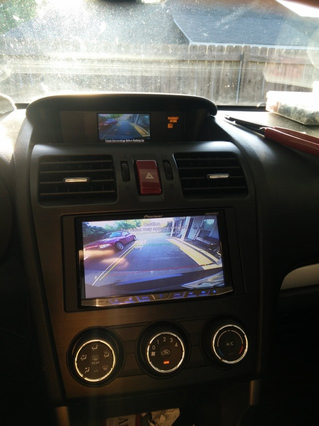 Factory Backup Camera Image on Aftermarket Radio Screen