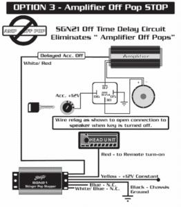 Stinger SGN21 Wiring Diagram - Option 3